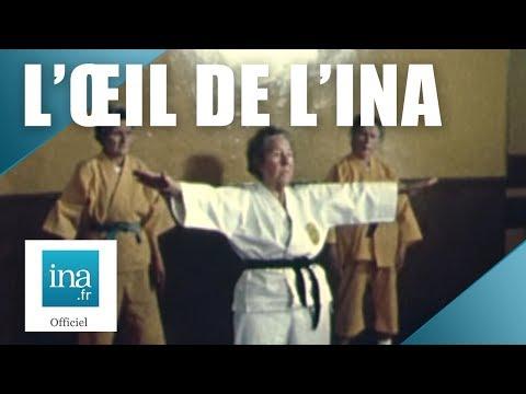 Jeanne Liberman, 85 ans et ceinture noire de Judo | Archive INA