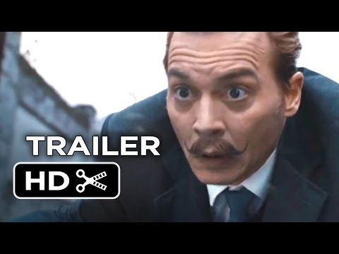 Mortdecai Movie Trailer