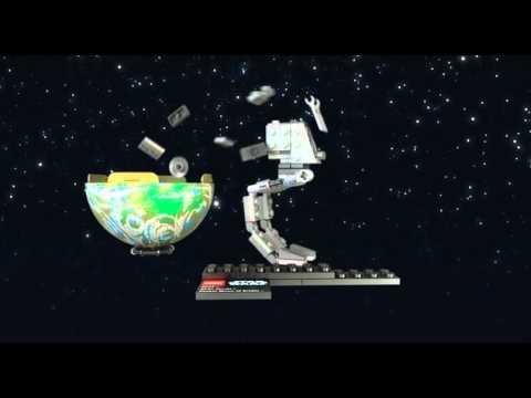 Vidéo LEGO Star Wars 9679 : AT-ST & Endor