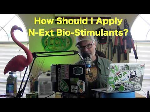 How to Apply The N-Ext Bio-Stimulants   Mixing Bio-Stimulants