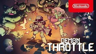 Nintendo Demon Throttle - Reveal Trailer - Nintendo Switch anuncio