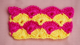 Baby Blanket Pattern   How To Crochet Knitted Baby Blanket
