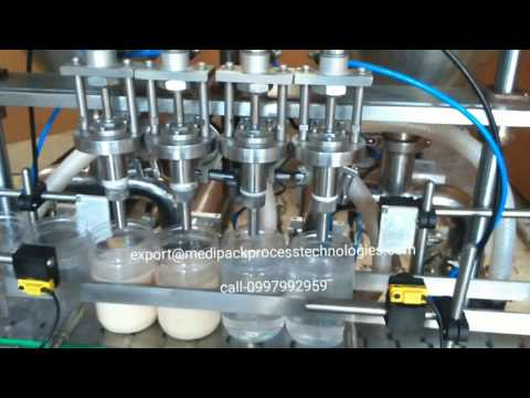 Automatic Tomato Sauce Filling Machines