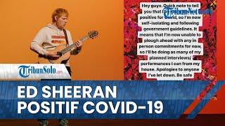 Ed Sheeran Positif Covid-19 Jelang Perilisan Album Baru, Ucapkan Permintaan Maaf untuk Penggemarnya