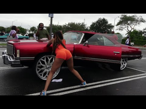 Veltboy314 - Donk Day 2018 (Preview)(Whips, Girls, Big Wheels, Candy Paint) - Miami, FL 5-2018