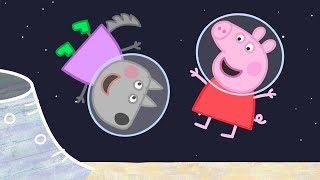 Свинка Пеппа на русском | Пеппа идет на луну! 🚀| Мультики