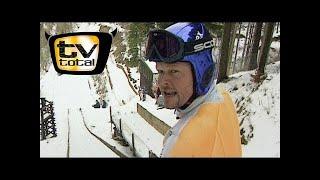 Raab in Gefahr beim Skispringen - TV total