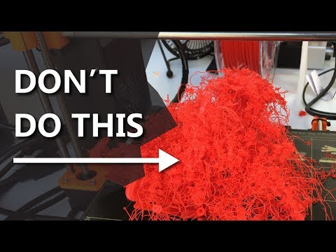 5 3D Printing Mistakes you WILL make - and how to avoid them! 3D Printing 101
