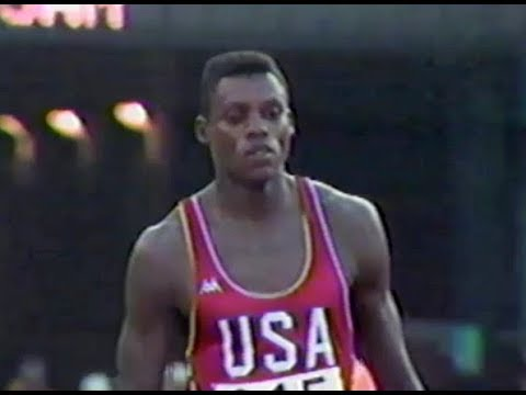 Carl Lewis - Men's 100m - 1984 Olympics