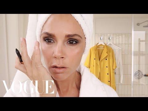 Victoria Beckham's Five-Minute Face   Beauty Secrets   Vogue