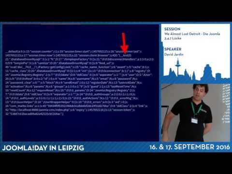 We Almost Lost Detroit - Die Joomla 3.4.7 Lücke