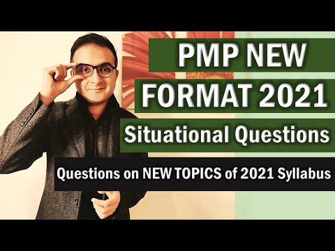 PMP NEW EXAM FORMAT QUESTIONS AND ANSWERS | PMP ...