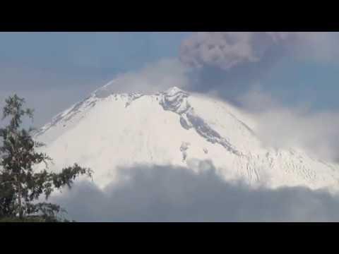Renovación de señalética en las Rutas de Evacuación del Volcán Popocatépetl