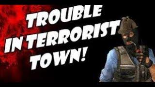Trolling in terrorist town
