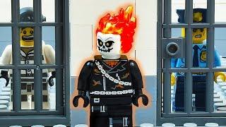 LEGO Ghost Rider Prison Break
