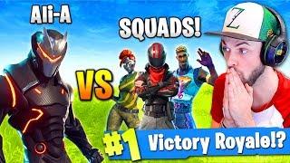 Ali-A - SOLO vs SQUADS in Fortnite: Battle Royale! - Video Youtube