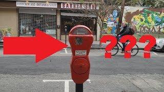 Джерси Сити пешком, почему счётчик красный?