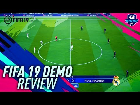 FIFA 19 DEMO GAMEPLAY REVIEW! FULL GAME REAL MADRID VS JUVENTUS