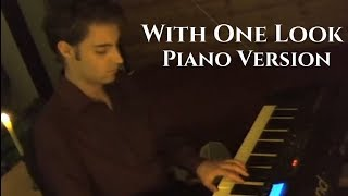 With One Look (Sunset Boulevard) - Piano Version by Gijs Van Winkelhof