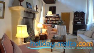 preview picture of video 'Medina Villa and Holiday Home to rent in Malta - (R540)'