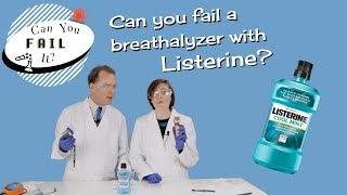 Can You Fail a Breathalyzer with Mouthwash?