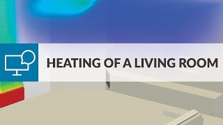 Air Conditioning And Ventilation Workshop: Heating Of A Living Room
