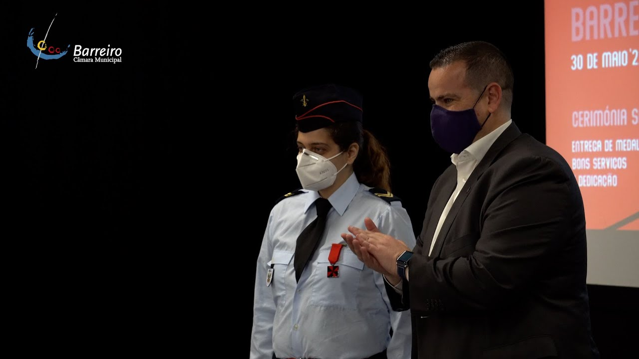 O Dia Municipal do Bombeiro foi assinalado no Barreiro, a 30 de maio