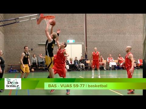 VIDEO | Basketballers VUAS na winst in derby tegen BAS nog steeds op kampioenskoers