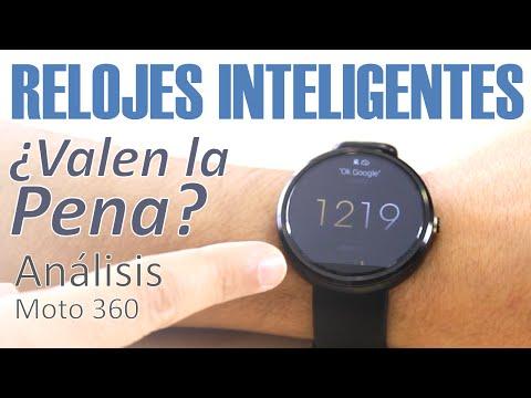 Relojes Inteligentes / Smartwatches: Análisis Moto 360 (en español)