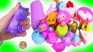 Squishy Squish Dee Lish Shopkins Surprise Blind Bag Squishes Series 2 Toy Video