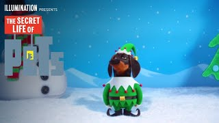 The Secret Life Of Pets  The Holiday Greeting HD  Illumination