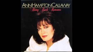 Ann Hampton Callaway / Where Does Love Go?