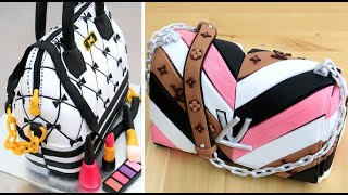 Amazing Fashion Cakes In COMPILATION | Handbags Cakes Decorating Ideas