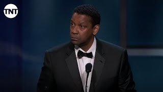 Denzel Washington Accepts The AFI Life Achievement Award | AFI 2019 | TNT