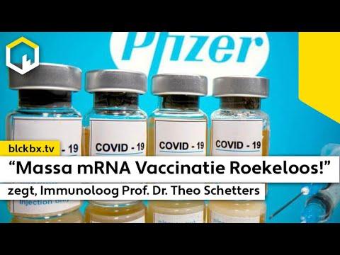 """""""Massa mRNA Vaccinatie Roekeloos en onnodig"""", zegt Prof. Dr. Theo Schetters"""