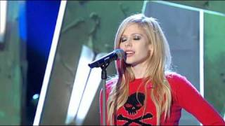 avril lavigne - when youre gone (live wetten dass 06-10-07)
