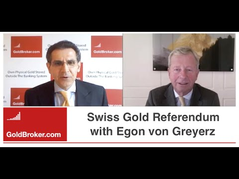 Egon von Greyerz on the Swiss Gold Referendum - A Yes Vote Would Be A Shock in the Gold Market