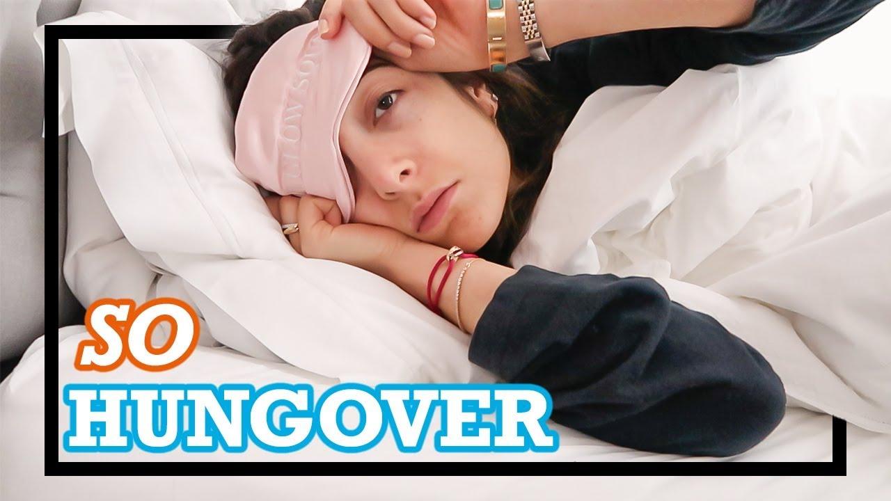 SO HUNGOVER! My Hangover routine | Amelia Liana