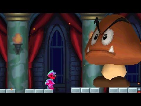 New Super Mario Bros DS - All Bosses with Super Stars