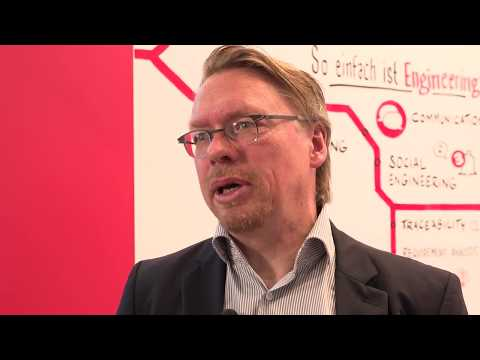 Marcus Schorn, CTO der PLATO AG, auf der Control 2017 im Interview
