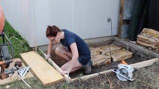 Pouring a Concrete Slab