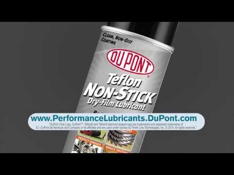 DuPont™ Non-Stick Dry-Film Lubricant with Teflon® Fluoropolymer