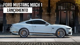 Ford Mustang Mach 1 - Lançamento