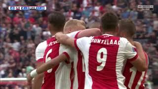 อาแจ็กซ์ อัมสเตอร์ดัม 3-1 เอฟซี โกรนิงเก้น 20 ส.ค. 2017