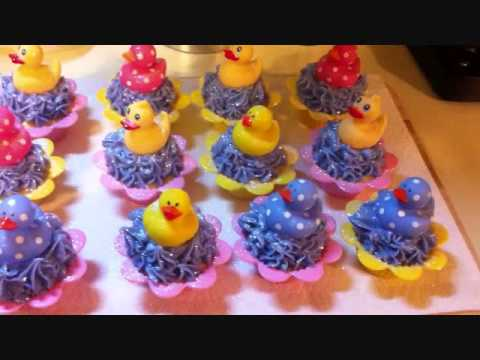 Rubber Duckie Cupcakes_0001.wmv