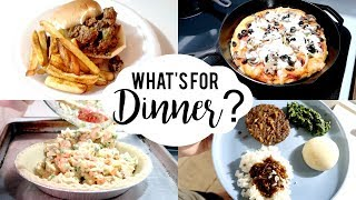 WHAT'S FOR DINNER   BUDGET FRIENDLY MEAL IDEAS 2020