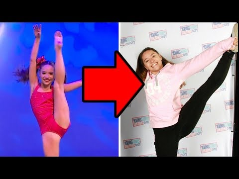What happened to Mackenzie Ziegler's Flexibility?