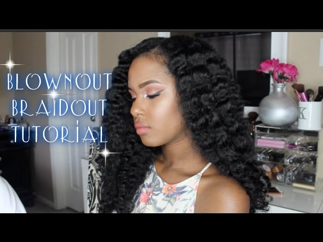 Braid Out On Blown Out Natural Hair | Free MP3 Download