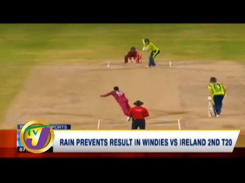 TVJ Sports News: Rain Prevents Result in Windies vs Ireland 2nd T20 - January 19 2020