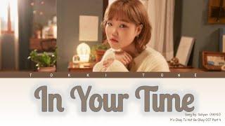 LEE SUHYUN (이수현) of AKMU – In Your Time (아직 너의 시간에 살아) Lirik Terjemahan (Han/Rom/SubIndo)